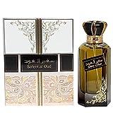 Perfume SAFEER AL OUD 100 ml de Lattafa Eau de Parfum Hombre Perfume árabe Oriental Oud Colonia Regalo de Hombre Attar Almizcle Halal NOTAS: Oudh Amaderado Rosa Cedro Azafrán, Pachulí
