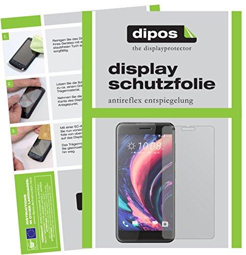 dipos I 6X Schutzfolie matt kompatibel mit HTC One X10 Folie Bildschirmschutzfolie