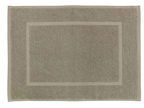 Allstar Alfombra de baño de terry Zen taupe - Alfombra de ducha, Algodón, 40 x 60 cm, Taupe