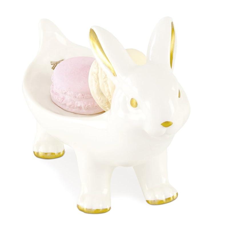 ブロンズくさび無礼にキャリングアニマル アロマストーン&アニマルトレイ Rabbit KH-60960