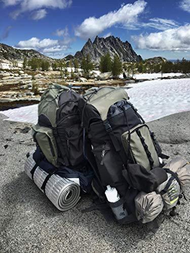 Amazon Basics Hiking Backpack With Rainfly