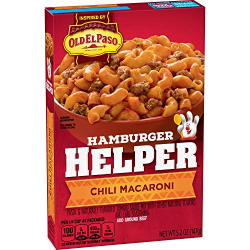Betty Crocker Hamburger Helper, Chili Macaroni 5.2 oz