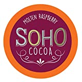 Soho Molten Raspberry Hot Chocolate Pods for Keurig K-Cup Brewers, 100 Count