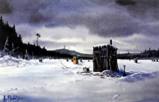 WINTER FISHING MEMORIES by Les Kouba 12