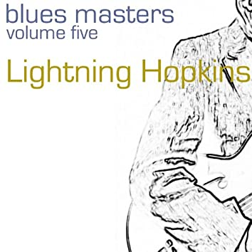 Blues Masters-Lightning Hopkins-Vol. 5
