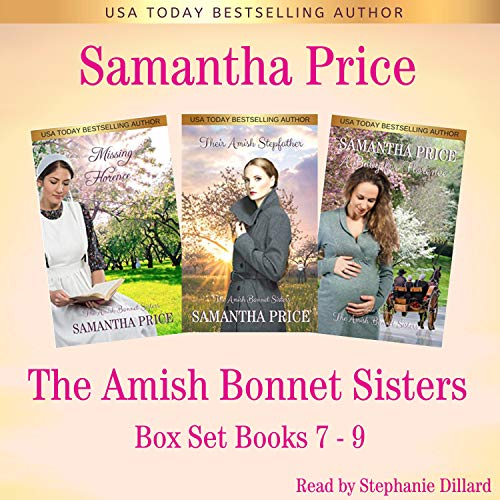 The Amish Bonnet Sisters Series Boxed Set: Books 7-9 Audiobook By Samantha Price cover art