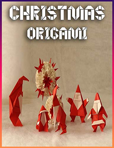 Christmas Origami: The Great Big Easy ORIGAMI Book | Origami Made Simple | Origami kit japanese | Origami Christmas