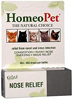 HomeoPet Pet Feline Nose Natural Relief Nasal & Sinus Infection