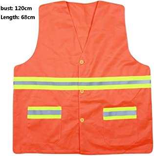 Reflective vests High Visibility Vest Safety Vest Running, Breathable Safety Night Uniforms Reflective Safety Vest Fluores...