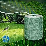 Inmindboom Estera de Semillas de Hierba Biodegradable Fertilizer Garden Picnic, 100% Biodegradable Crecimiento de Plantas Estera de germinación Estera de Inicio de Semillas (1PCS)