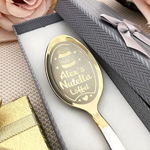 Personalisierter Nutella-Löffel in Geschenkbox