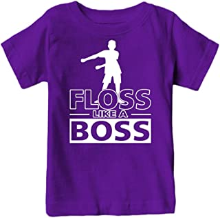 Fantastic Tees Kids Floss Like a Boss Flossin Dance Youth T Shirt