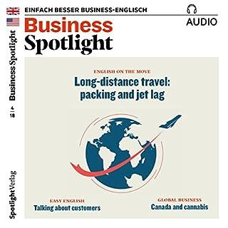 Business Spotlight Audio - Long distance travel. 4/2018 Titelbild