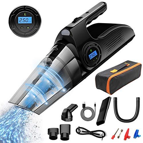For Sale! Ponacat Handheld Vacuum Cordless Cleaner, USB Mini Car Vacuum Cleaner, Powerful Cyclonic S...
