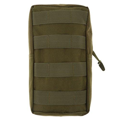 Molle Bolsa Para Uso General Táctico Modular De Accesorios De Camuflaje Militar Bolsa - Verde, for 15inch Macbook