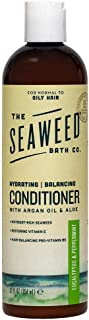 The Seaweed Bath Co. Balancing Conditioner, Eucalyptus and Peppermint, Natural Organic Bladderwrack Seaweed, Vegan and Paraben Free, 12oz