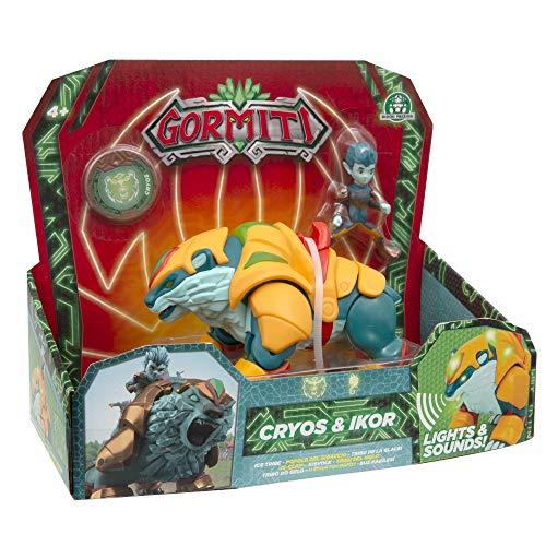 Giochi Preziosi Gormiti, Series 2, Hyperbeasts Deluxe 15 cm, Cryos