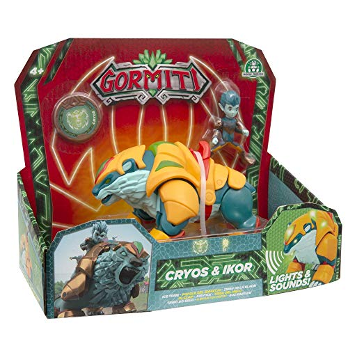 Giochi Preziosi Gormiti, Serie 2, Hyperbeasts Deluxe 15 cm, Cryos