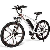 Lixada Bicicleta Eléctrica de 26 Pulgadas Power Assist E-Bike 350W Motor Ciclomotor