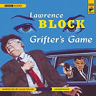 Grifter's Game audiobook cover art