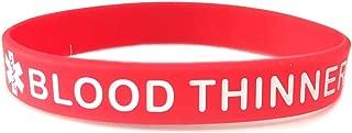 blood thinner warning bracelet
