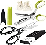 Best Herb Scissors - Chefast Heavy Duty Kitchen Shears and Herb Scissors Review