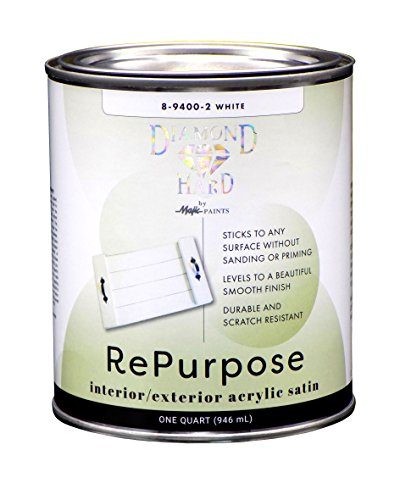 Majic Paints 8-9400-2, White, Interior/Exterior Satin...