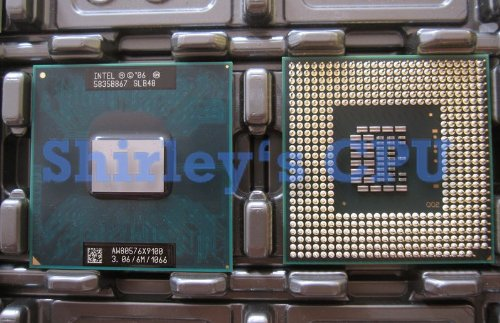 Intel Core 2 Extreme X9100 Mobile - 3.06 GHz - 2 Kerne-Sockel P-OEM
