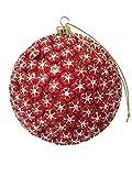 Colgante Adorno Navidad Christmas Bola Rojo Grande