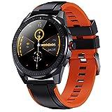 APCHY Smart Watch for Men Mujer, 1.28'Trucidador De Fitness De Toque Completo con Monitor De Ritmo Cardíaco Podómetro, Actividad Y Seguimiento del Sueño, Reloj Deportivo Impermeable IP68,B