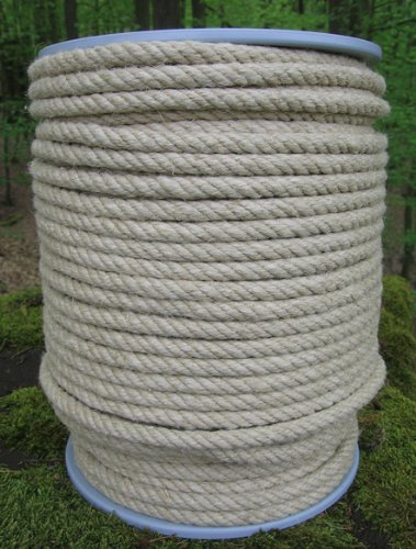 Gepotex corde en chanvre diamètre 8 mm-longueur : 100 m sur bobine en 100 %