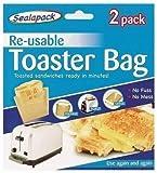 St@llion Reusable Toaster Bags Toastie Sandwich Toast Bags Pockets Non-Stick Toasty for Kitchen Accessories (2 Pcs)