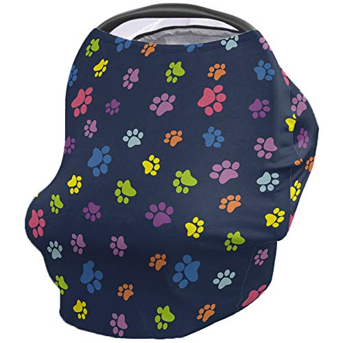 Great Price! Baby Nursing Cover Breastfeeding Cover Soft Breathable Chemical-Free 360° Coverage, An...