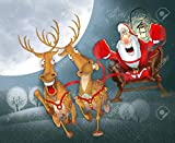 Puzzle 1000 piezas Cartel navideño serie 196 arte regalo en Juguetes y juegos Gran ocio vacacional, juegos interactivos familiares Rompecabezas educativo de juguete para alivi50x75cm(20x30inch)