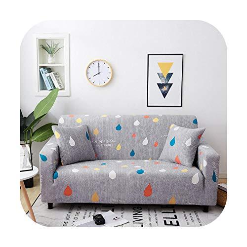 Sofacover - Funda elástica para sofá de 1/2/3/4 plazas, x, 2-seat 145-185cm