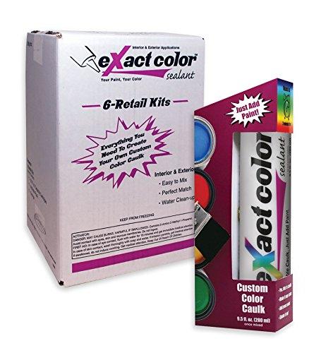 Sashco eXact color Tintable Caulk DIY Pack