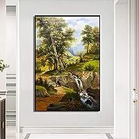 壁の芸術は風景を印刷しますキャンバスに 芸術の絵画壁の芸術壁の装飾の写真ライブルームの家の装飾のための絵画30x45cmフレームレス