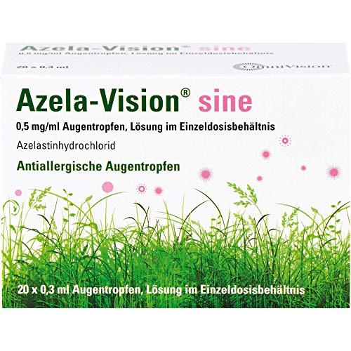 Azela-Vision sine Augentropfen Einzeldosisbehältnis, 20 St. Ampullen