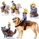 Frashing Haustier Hund Katze Cowboy Kostüm lustiger Hundemantel Weihnachten Hundekostüm Halloween...