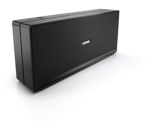 Loewe Speaker 2go - Altavoz portátil de 10 W con Bluetooth, negro [importado]