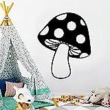 Uiewle Pegatinas de Pared de Setas decoración Creativa del hogar Sala de Estar Dormitorio Accesorios de decoración Mural 42x51 cm