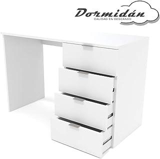 Dormidán- Escritorio 4 Cajones, Mesa de Oficina, Despacho