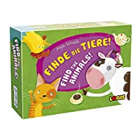 ロジス LOGIS 動物をみつけよう! 「FIND THE ANIMALS!」 ボードゲーム おもちゃ 知育玩具 子供から大人まで 楽しく簡単 / 小学生 家族 日本語説明書付き [並行輸入品]