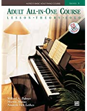 Alfred adult all in one 3 pf bk/cd +cd: Lesson * Theory * Solo, Comb Bound Book & CD (Alfred's Basic Adult Piano Course, Level 3)