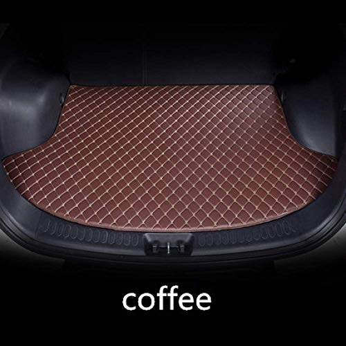 Clmaths Auto-Kofferraummatte, for BMW 3er E90 Limousine E92 Coupe X3 E83 F25 X5 E70 F15, Cargo-Boot-Liner Tray Tailored Rear Trunk Mat Schutzmatten (Color : Coffee)
