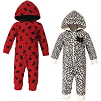 Little Treasure Unisex Baby Fleece Jumpsuits and Coveralls