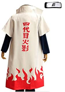 Fuji 4th Hokage Cosplay Costume Japanese Anime Naruto Cosplay
