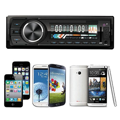 Iuhan New Bluetooth Car Stereo Audio in-Dash FM Aux Input Receiver SD USB MP3 Radio