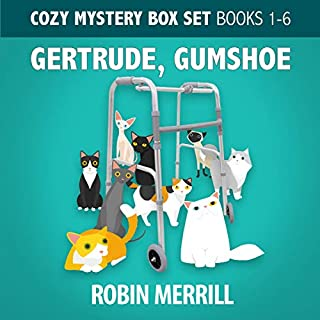 Gertrude, Gumshoe Cozy Mystery Box Set: Books 1–6 audiobook cover art