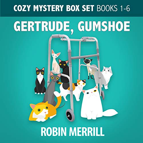 Gertrude, Gumshoe Cozy Mystery Box Set: Books 1–6 cover art